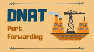 iptables dnat and port forwarding