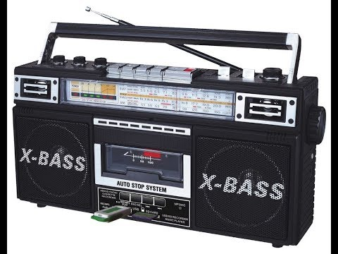 QFX J 22UBK ReRun X Radio and Cassette to MP3 Converter