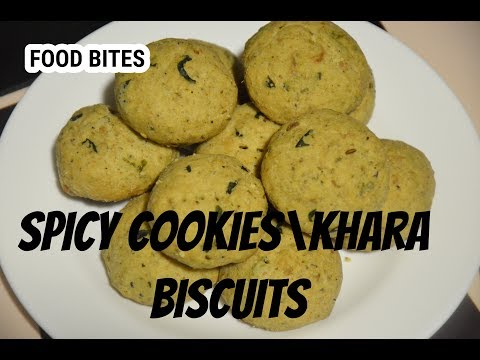 Bangalore Bakery  style khara biscuit | Spicy Biscuit|recipe by FOOD BITES