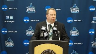 Jeff Burkhamer Introduced as UWF Men's Basketball Head Coach