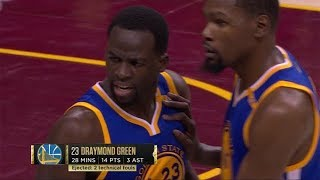Durant, Curry & Green Highlights - 2017 NBA Finals Game 4 - Golden State Warriors vs Cleveland Cavs