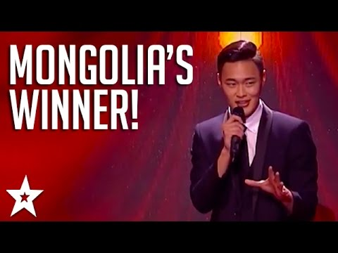 Smooth Voice Of Mongolia's Got Talent Wins | Got Talent Global