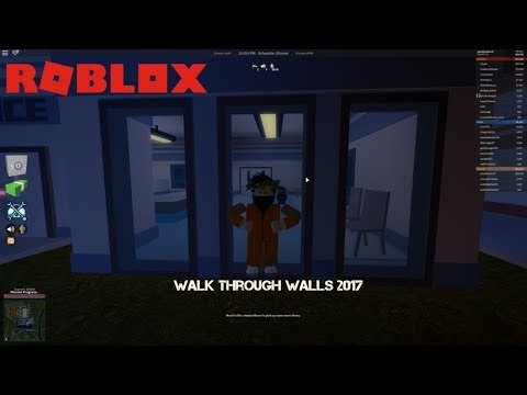 Roblox Jailbreak 2017 Walk Through Walls Cheat Engine Youtube