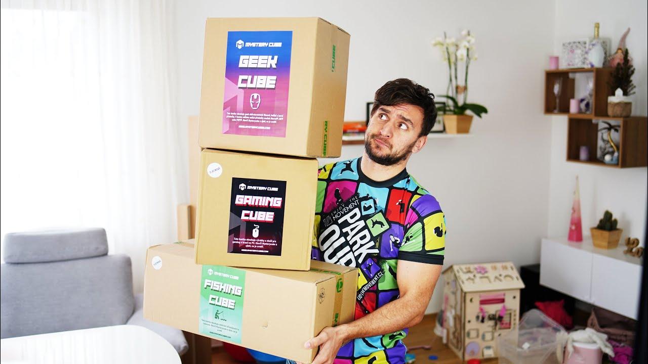 Otevírám Mystery Cubes! Co je uvnitř?