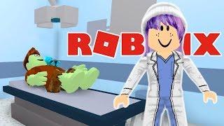 HALLOWEEN COSTUME DIY DISASTER IN ROBLOX | HOSPITAL ROLLENSPIEL