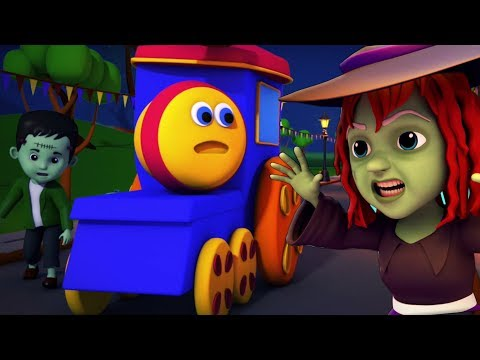 รถไฟบ๊อบฉลองฮาโลวีน | สุขสันต์วันฮาโลวีน | บทกวีเด็ก Bob Train Halloween Song