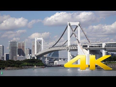 Walking around Odaiba - Tokyo - お台場 - 4K Ultra HD