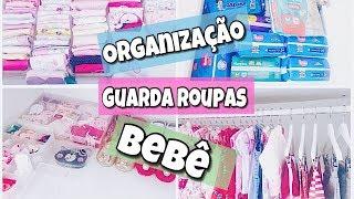 Organização Guarda Roupa Bebê