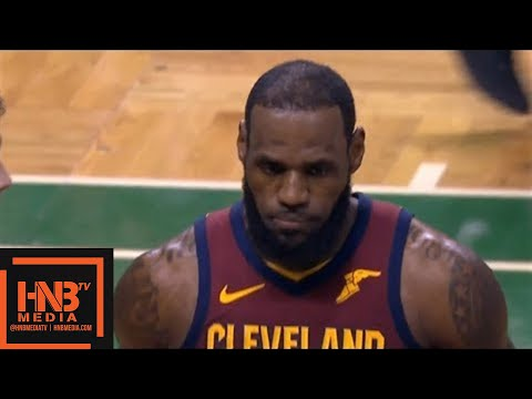 Cleveland Cavaliers vs Boston Celtics 1st Half Highlights / Game 1 / 2018 NBA Playoffs