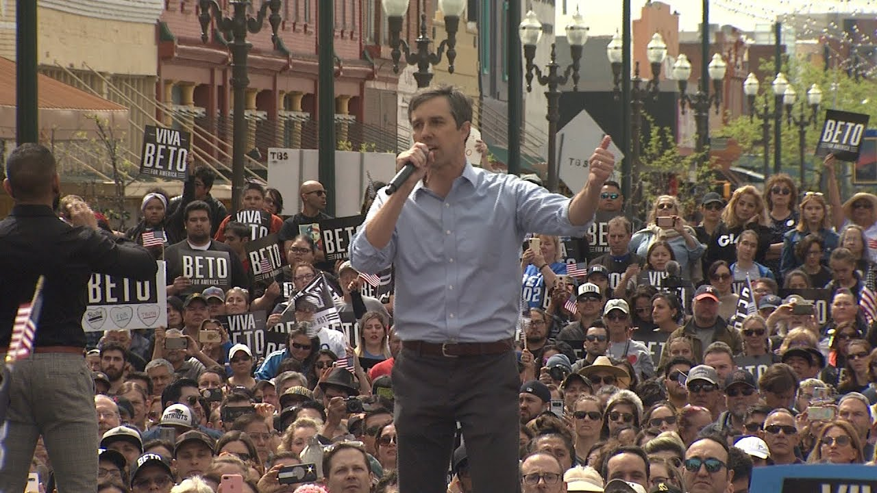 Beto O'Rourke Officially Kicks Off 2020 Campaign With Speech In El ...