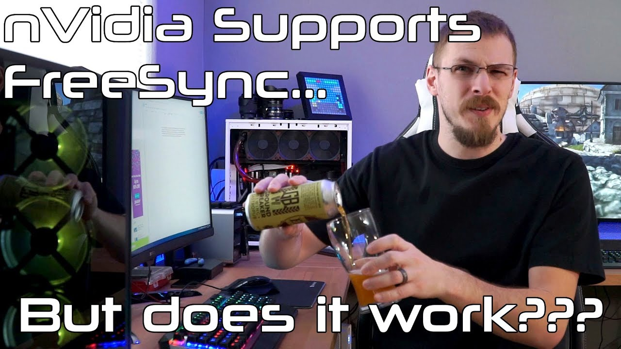 nVidia G-Sync / FreeSync Support First Look - Friday Flights
