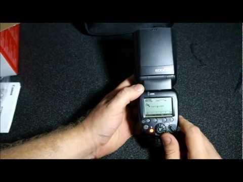 Обзор вспышки Canon Speedlite 600EX-RT, часть 1