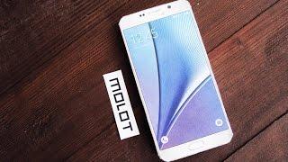 Samsung galaxy note 5 из бумаги (MOLOT)