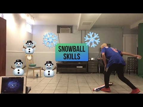 "PE At Home: ""Snowball Skills"" Challenge"