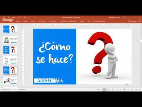 MARKET RESEARCH -Webinar Aiesec