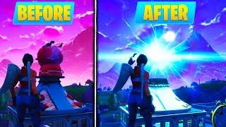 PORTAL DESTROYS TOMATO TOWN Head! (GAMEPLAY) - Fortnite Battle Royale ALL NEW PORTAL LOCATIONS!