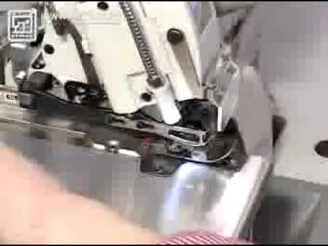 6-ти ниточный промышленный оверлок Pegasus M732-355-3X2X4 - YouTube