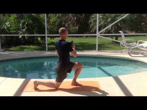 Dumbbell Reverse Lunge and Rotation: Strength, Balance and Core in One Movement
