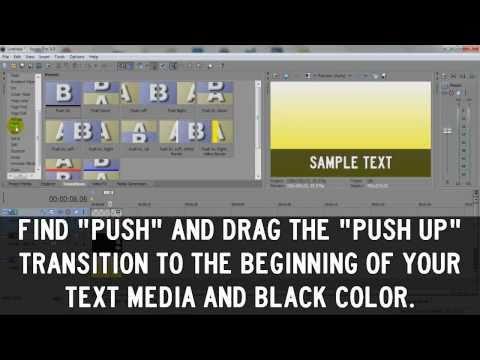 Sony Vegas Tutorial: Transparent Text Box Effect