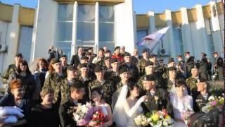 Три свадьбы украинских морских пехотинцев