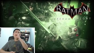 Batman Arkham Knight - Ace Chemicals Infiltration Trailer Part 3! [unCAGEDgamez Reaction]