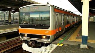 JR東日本E231系 MU34編成 京葉線~武蔵野線 南船橋駅発車
