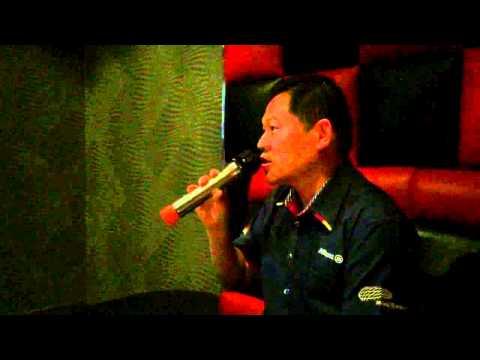 Mr Sew Sings Karaoke