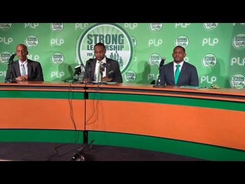 PLP Announce Candidates: Anthony Richardson &  Owen Darrell, Aug 26 2020