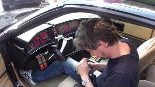 "Mein Knight Rider K.I.T.T. Replika bei ""Alarm für Cobra 11"" (Dreharbeiten) - www.myKITT.de"