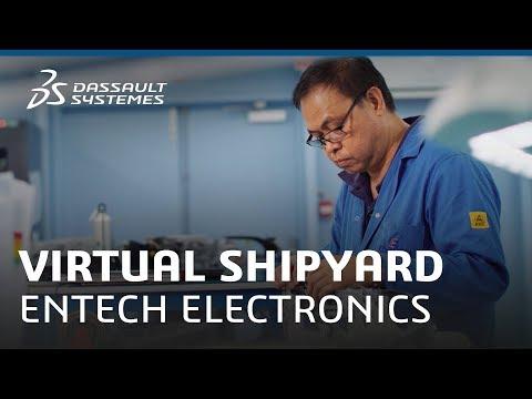 Virtual Shipyard - Entech Electronics - Dassault Systèmes