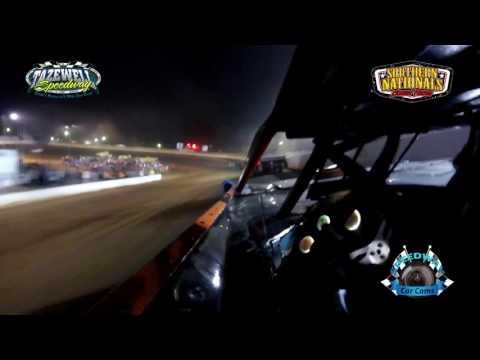#86 Jeff Neubert - Super Late Model - 7-2-17 Tazewell Speedway - In-Car Camera