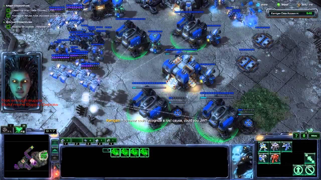 Starcraft 2 Gameplay HD