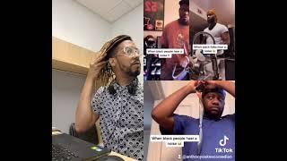When Black people hear a noise...