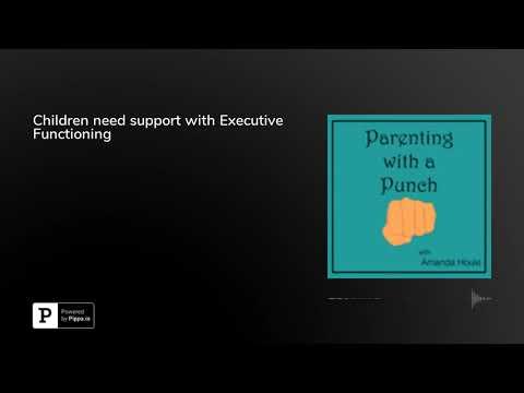 Children need support with Executive Functioning