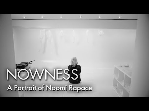 """A Portrait of Noomi Rapace"" by Aitor Throup"