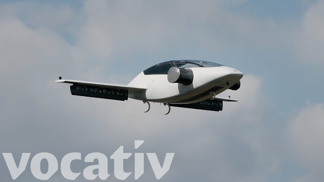 The World S First Electric Vertical Takeoff And Landing Jet