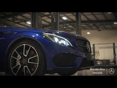 Service & Spare Parts Department (Extended) | Mercedes-Benz Newcastle