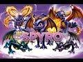 Skylanders - Spyro the Dragon Toy Line Gameplay Swap Force Montage