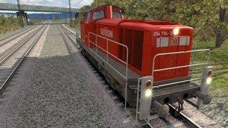 BR 294   LET´S PLAY Train Simulator 2013   Folge 85   Kohlenachschub