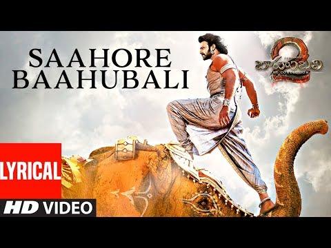 Saahore Baahubali Lyrical Video Song   Baahubali 2   Prabhas, Anushka Shetty, Rana, Tamannaah