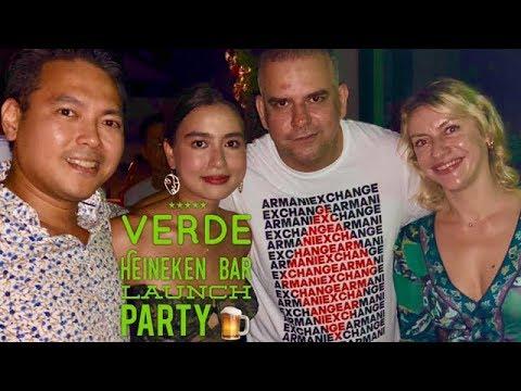 Manila Nightlife: Verde Heineken Concept Bar Launch Party Makati Manila Philippines