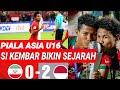 Indonesia U16 Vs Iran U16; Tim Asean Pertama Yg Kalhkan Iran;2-0di Piala Asia 2018;gol Bagas Kahfi
