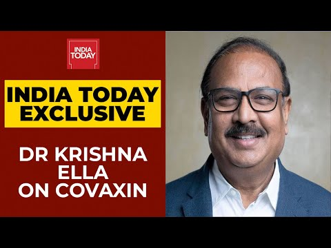 Bharat Biotech's Dr Krishna Ella On Efficacy Of Covaxin, Side Effects & Nasal Vaccine   Newstrack