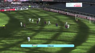 Real madrid vs Barcelona(Pro evolution soccer 2006