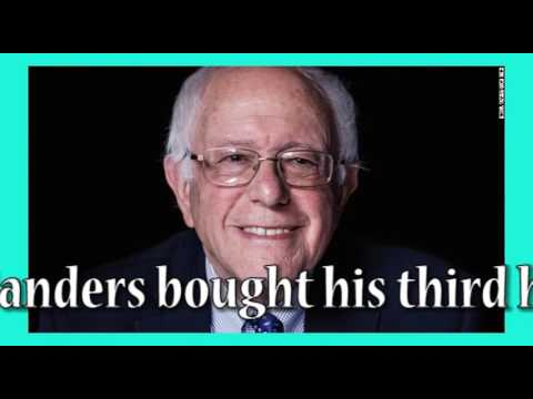 Bernie buys $575,000 vacation home; Can socialists do that