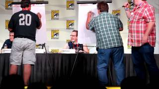 Draw off between Peter Avanzino & Matt Groening