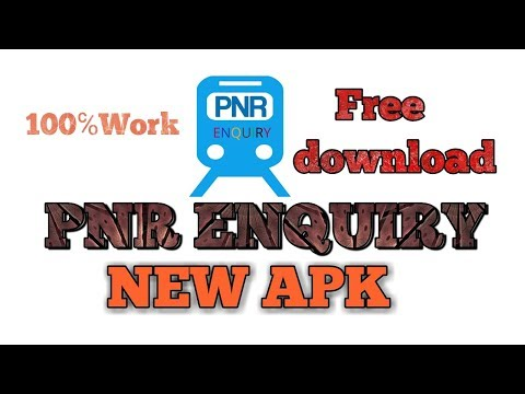 PNR ENQUIRY NEW APK FREE DOWNLOAD