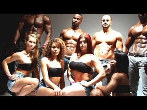 Live PhotoShoot Workout - MEM Fitness Models at The Jump Off #5 2014 thumbnail