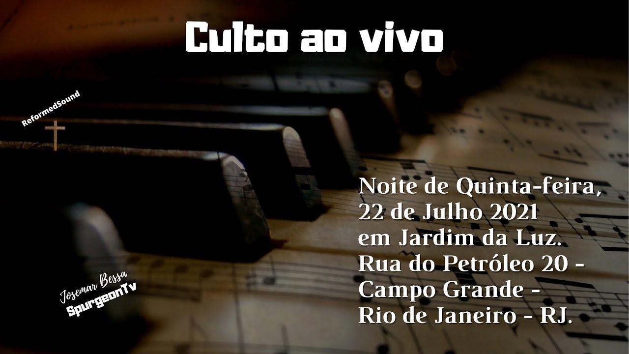 Noite de Quinta, 22/07/2021 em Jardim da Luz - Rua do Petróleo 20 - CG - Rio de Janeiro - RJ.