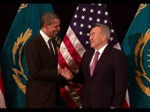 President Obama's Bilateral Meeting with President Nazarbayev of Kazakhstan